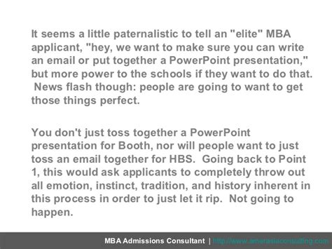 Analogy For Mba Program In Person S by Everyone Relax Hbs Third Essay Really Just A 400 Word