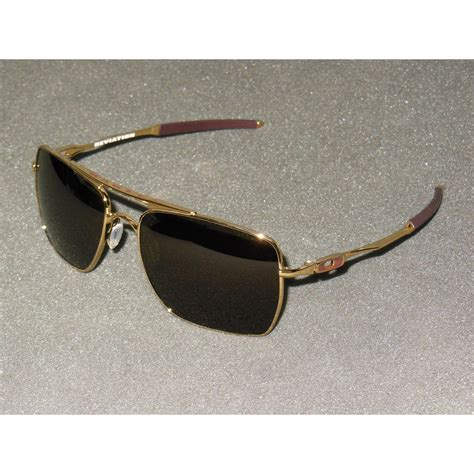 Jual Sunglasses Kacamata Fashion Okley Premium oakley deviation s retro aviator sunglasses polished gold grey
