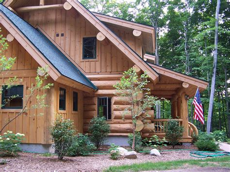 Handcrafted Log Homes - photo gallery timber wolf handcrafted log homes inc