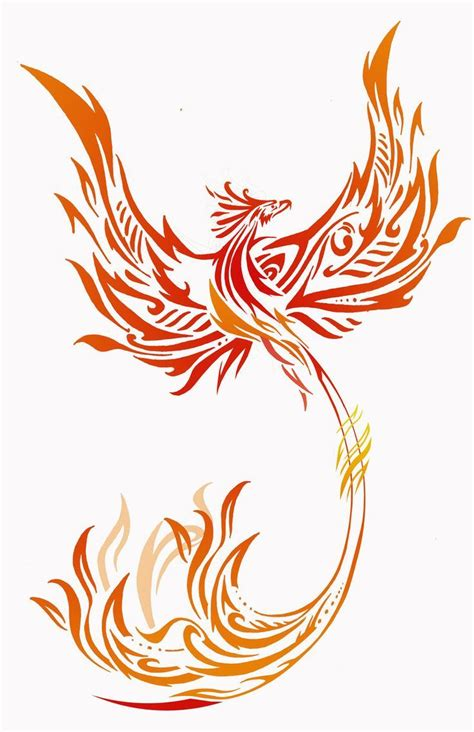 tribal pheonix tattoo bildresultat f 246 r tattoos tattoos