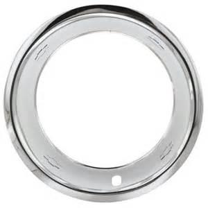 15 x 8 chevrolet rally wheel trim rings w bowtie logo