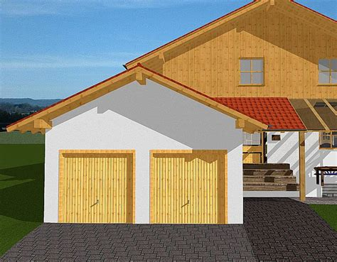 Als Garage by Wohnhaus In Bad Endorf 3d Planung