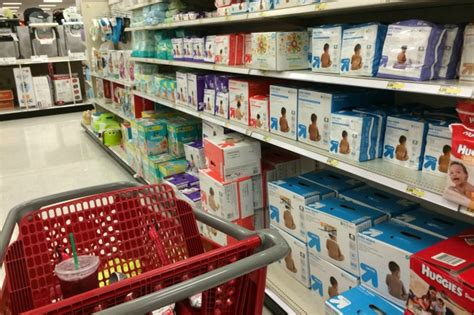 target baby section how to save money at target a photo story