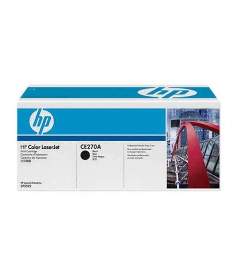 Toner Laserjet Hp 650a hp 650a black laserjet toner cartridge ce270a buy at best price in india snapdeal