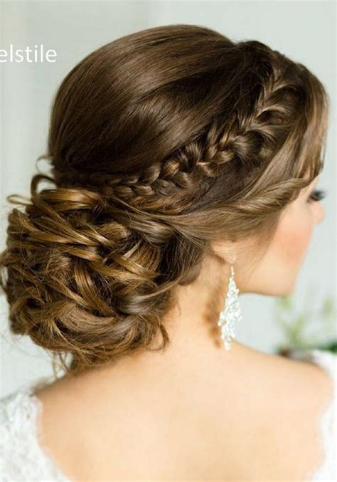 Wedding Updos Braids by 75 Chic Wedding Hair Updos For Brides Chongos