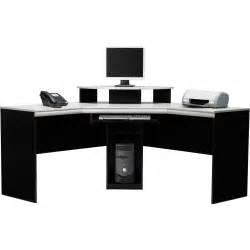 Black Corner Desk Black Corner Computer Desk With Hutch Office Furniture