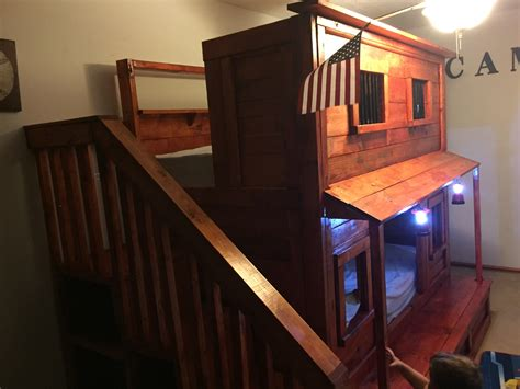 jail beds ana white western jail bunk bed diy projects