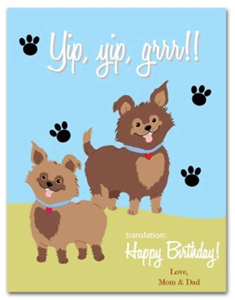 birthday card template boy doge printable puppy birthday card template