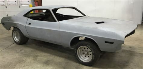 dodge challenger hardtop rolling chassis father son