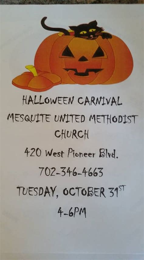 Methodist Recorder Announcements Carnival United Methodist Church Mesquite