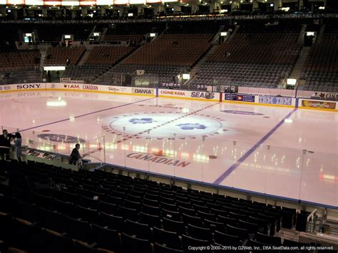 section 118 air canada centre air canada centre section 107 toronto maple leafs