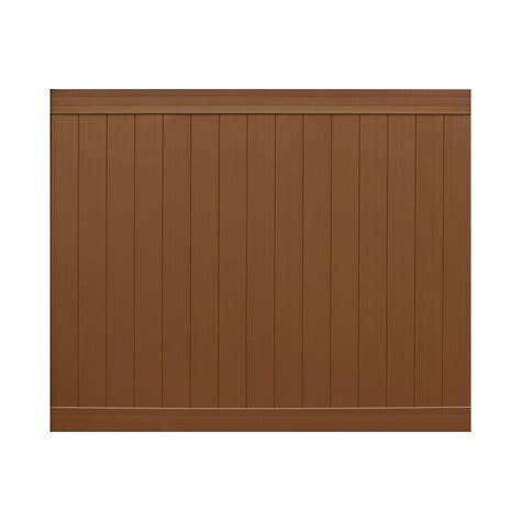 pro veranda veranda pro series 6 ft h x 8 ft w brown vinyl anaheim