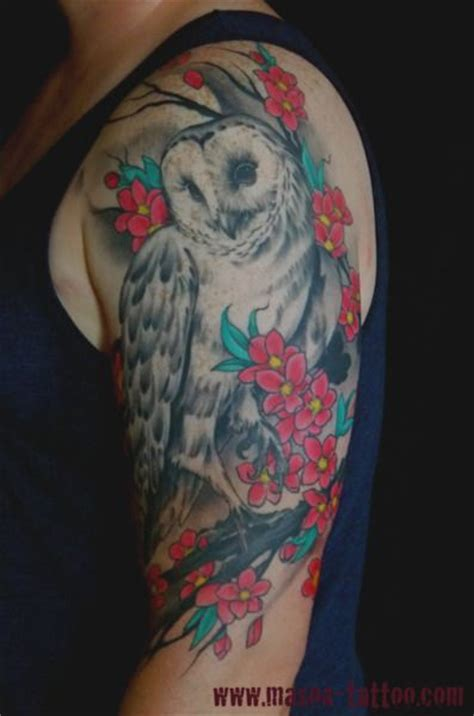 owl half sleeve tattoo 25 beautiful owl sleeves ideas on owl