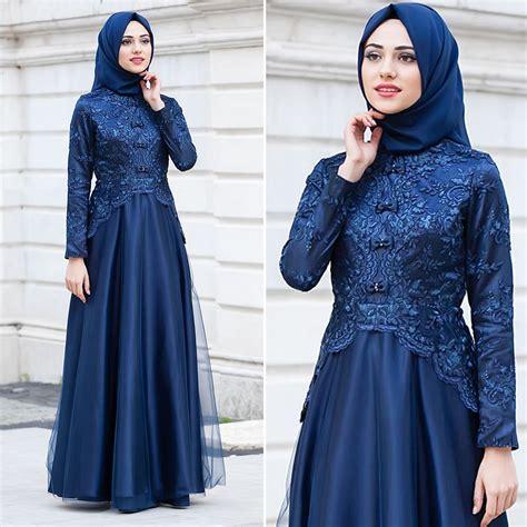 kebaya muslim hijab fashion gaun pakaian perkawinan