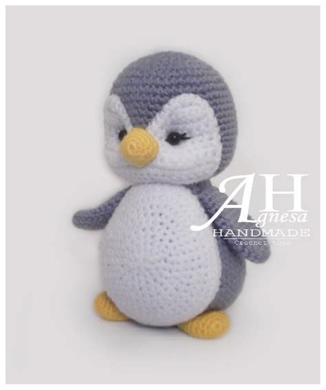 Animal Pattern Baby Name baby penguin crochet pattern amigurumi crochet