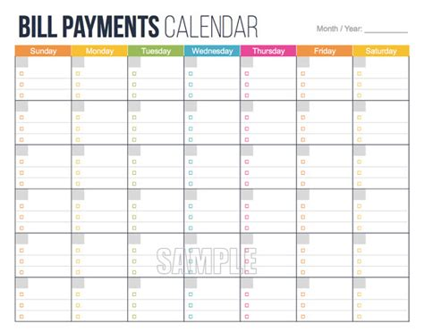 monthly bill calendar template search results for bills pay calendar calendar 2015