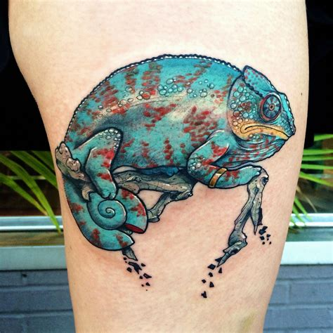 amulet tattoo chameleon by jonathan penchoff g s at amulet st