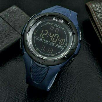 Jam Tangan Pria Digitec Batman Digital Original Grey Water Resist jual beli jam tangan digitec digital dg3019 original blue