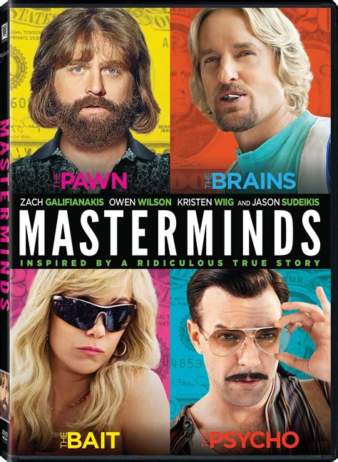 The Masterminds masterminds dvd release date january 31 2017