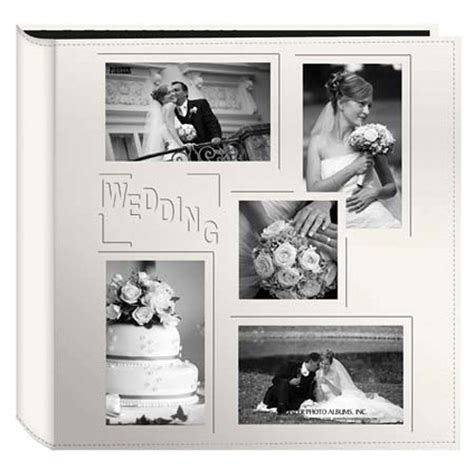 Wedding Album 4x6 by Pioneer Photo Albums 5col240 Collage Frame Embossed