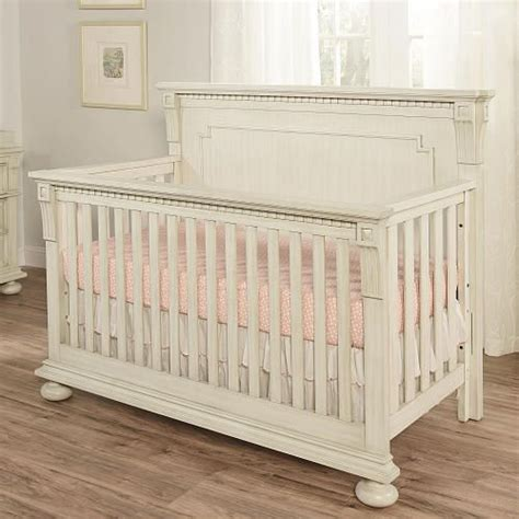 Antique White Convertible Crib 599 Oxford Baby Mid Century Claremont 4 In 1 Convertible Crib Antique White Oxford Baby