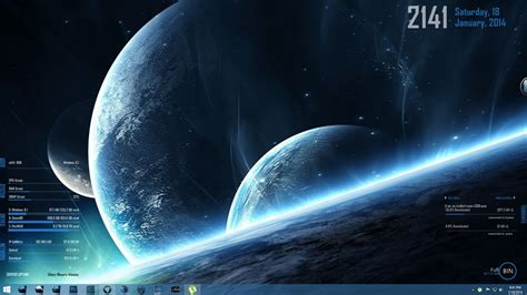 rainmeter themes for windows 8 1 download show your desktop page 3 general discussion emby