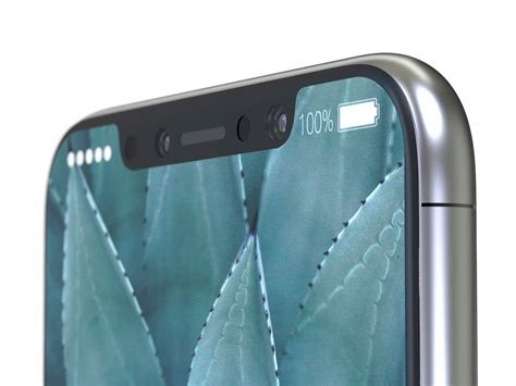 iphone notch a foxconn executive said the iphone 8 won t be cheap