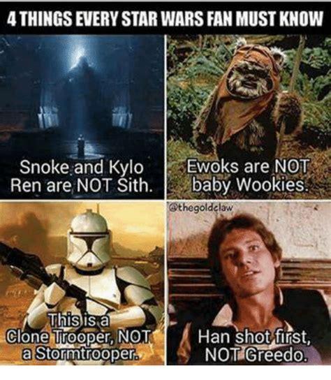 Han Shot First Meme - 25 best memes about baby wookie baby wookie memes