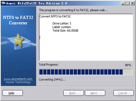 format fat32 to ntfs without losing data a safe way to format ntfs to fat32 without data loss by