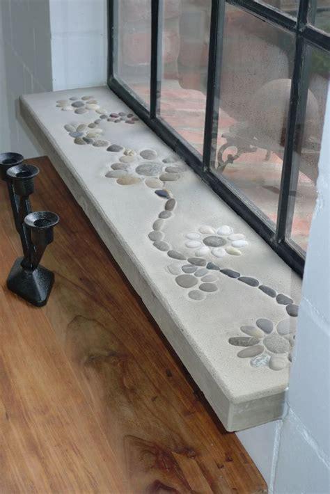 fensterbrett heizung selbstgefertigte betonfensterb 228 nke eingebaut karin