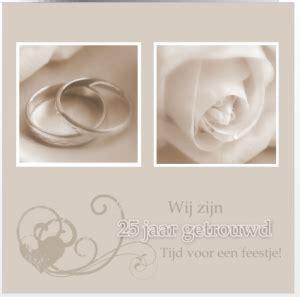 25 jaar getrouwd zilver felicitatie zilveren bruiloft uitnodiging met bloemen uitnodiging maken