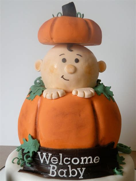 Pumpkin Themed Baby Shower   CakeCentral.com