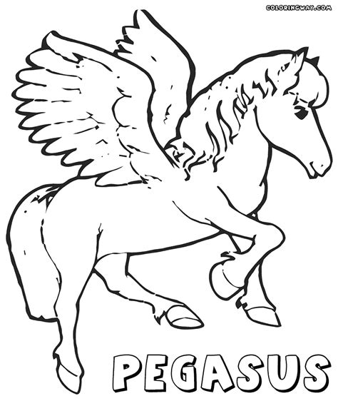 coloring sheet pegasus coloring pages coloring pages to and print