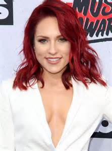 sharna burgess hair color sharna burgess picture 14 iheartradio awards 2016
