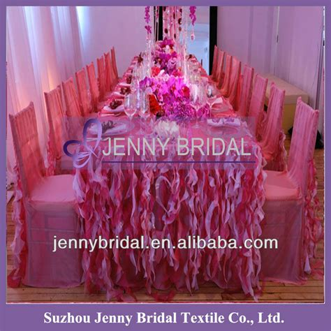 wedding table skirting to buy tc091e sale popular white tulle table skirting designs