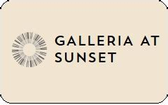 buy galleria at sunset gift cards at a discount giftcardplace - Galleria Gift Card