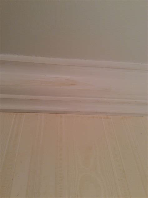 Yellow Stains In Bathroom Walls Bathroom Paint Yellow Streaks Tomthetrader