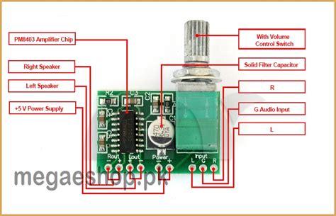 Pam8403 Pam 8403 2 X 3w Digital Power Lifier Module 6 pam8403 mini 5v digital lifier board with switch