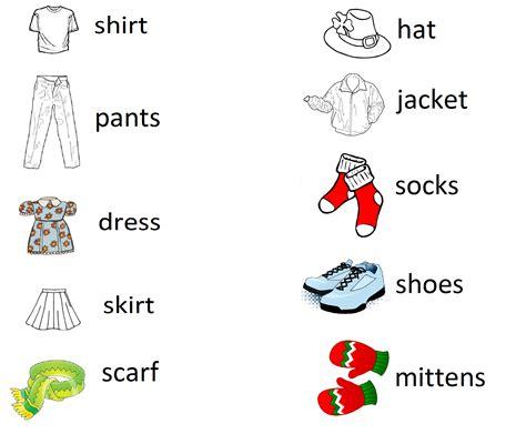clothing vocabulary miss s fabulous grade
