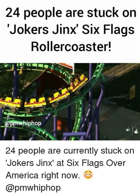 Six Flags Meme - 25 best memes about jinx jinx memes