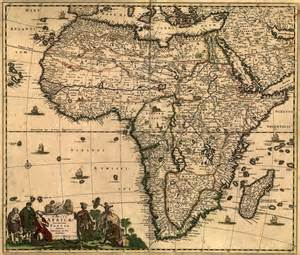 Old Map Of Africa by Africa 1688 Antique World Map Old World Map Ancient Maps