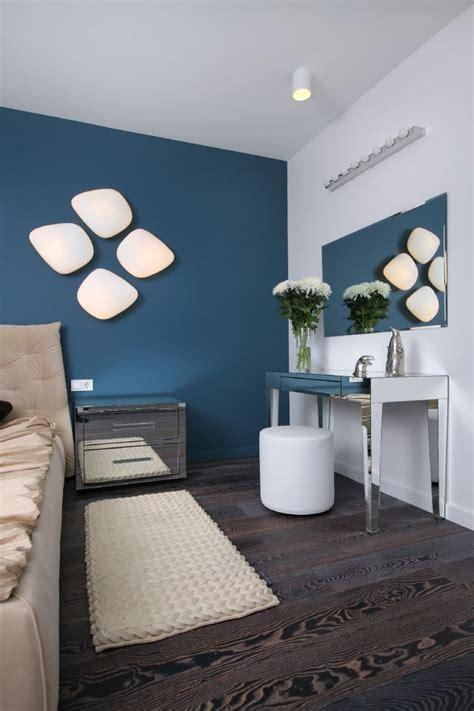 Blaue Wandfarbe Schlafzimmer by Die Besten 25 Wandfarbe Petrol Ideen Auf