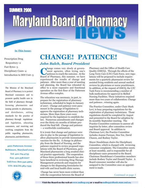 Pharmacy Template by 9 Pharmacy Newsletter Templates Free Pdf Doc Format