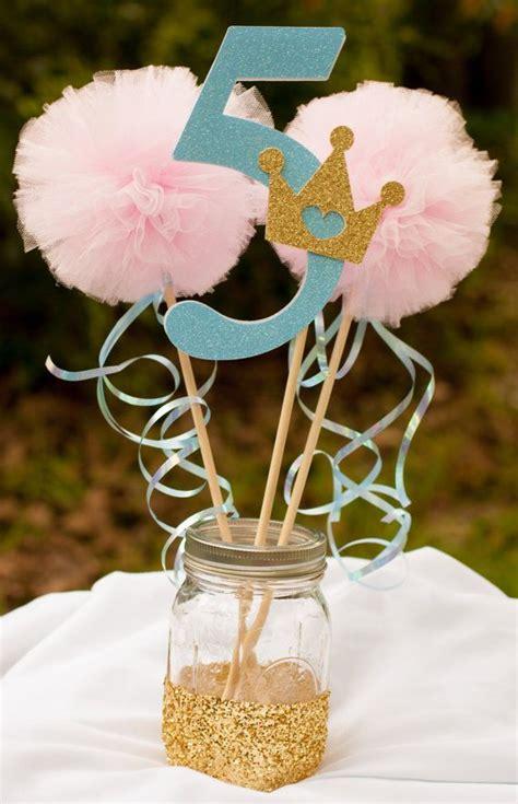 princess themed centerpiece ideas princess centerpiece pink and blue centerpiece table decoration gracesgardens