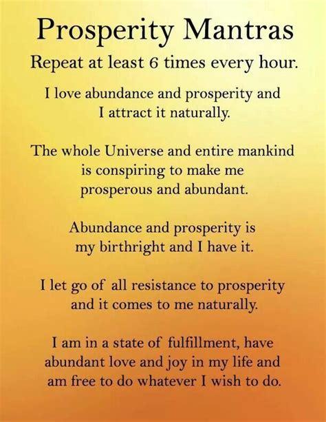 The Secret Mantra 278 best affirmations for wealth images on