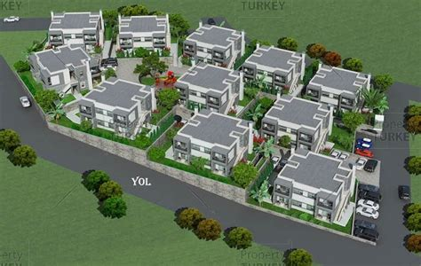 apartment complex layout sea view modern apartments for sale in turgutreis