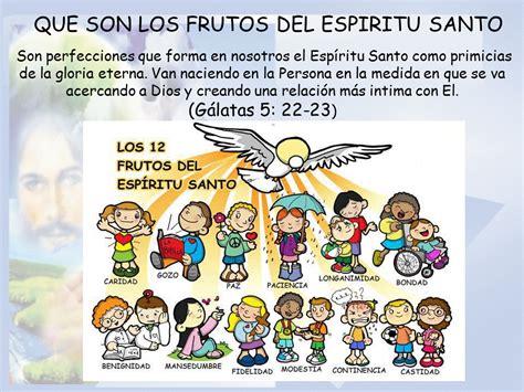imagenes de los 7 dones del espiritu santo dones del espiritu santo para ninos top frutos del