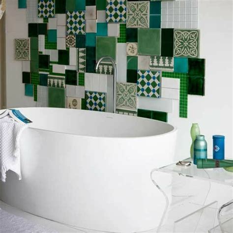 modernes bad 70 coole badezimmer ideen - Blue Mosaic Badezimmeraccessoires