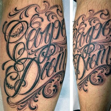 seize the day tattoo designs 70 carpe diem designs for seize the day ink ideas
