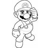 Dessin &224 Colorier Imprimer Mario Bros